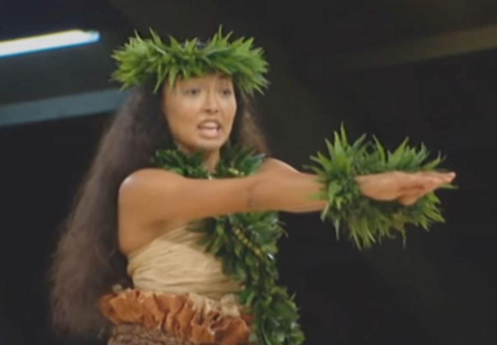 Bailarina hula