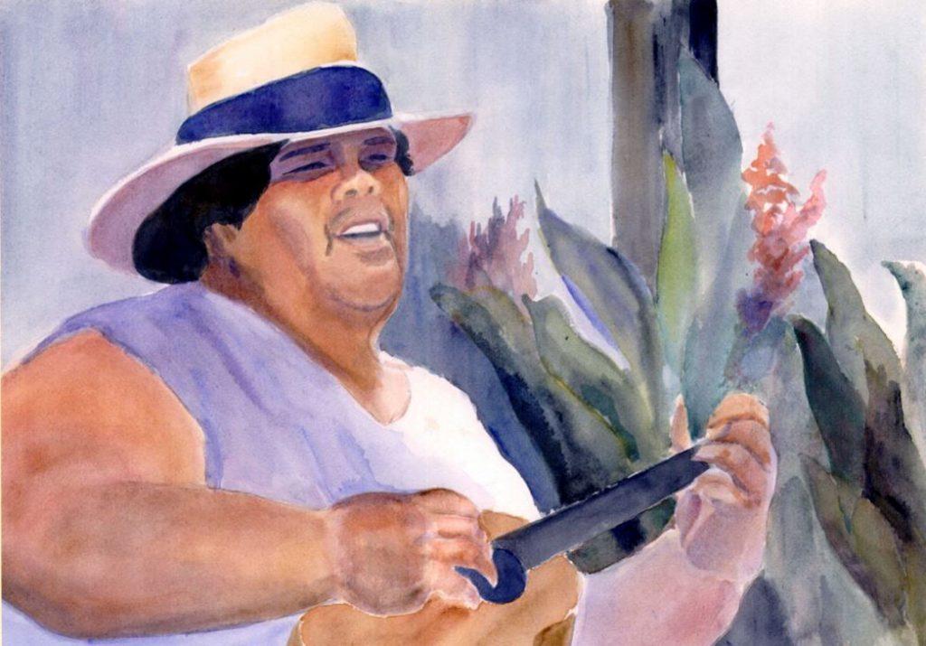 El gordo hawaiano - Israel Kamakawiwo ole