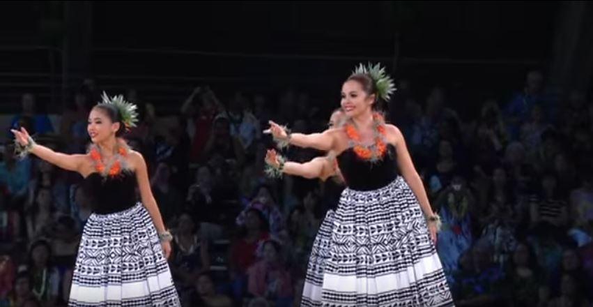 Traje de hawaiana - Auana 3