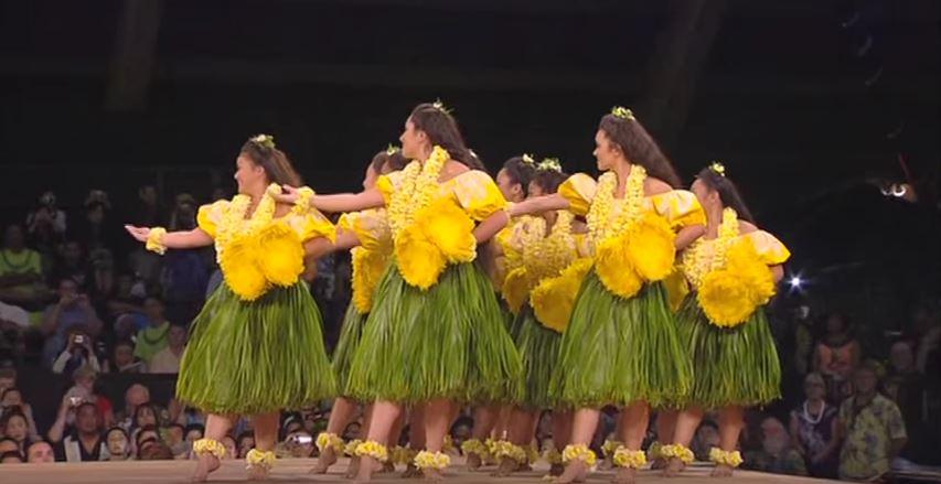 Traje de hawaiana - Auana