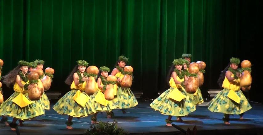 Traje hawaiano nina Kaikamahine - Kahiko 2