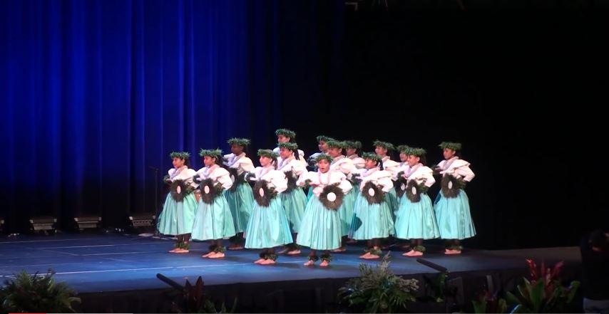 Traje hawaiano nina Kaikamahine - Kahiko 3