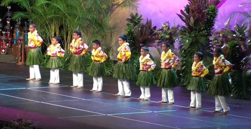 Traje hawaiano nino - Auana 3