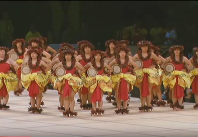 Traje tipico hawaiano de mujer Wahine - Kahiko 2