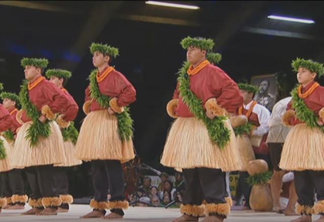 Traje tipico hawaiano hombre Kane - Kahiko 2