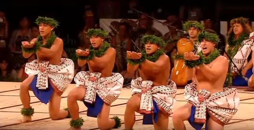 Traje tipico hawaiano hombre Kane - Kahiko 3
