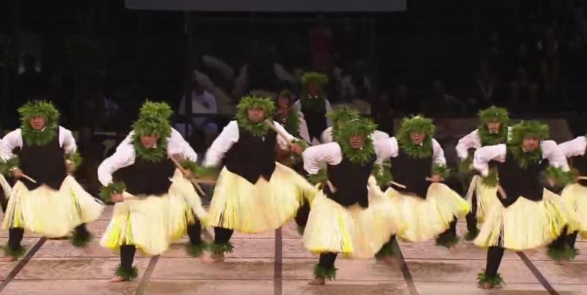 Traje tipico hawaiano hombre Kane - Kahiko
