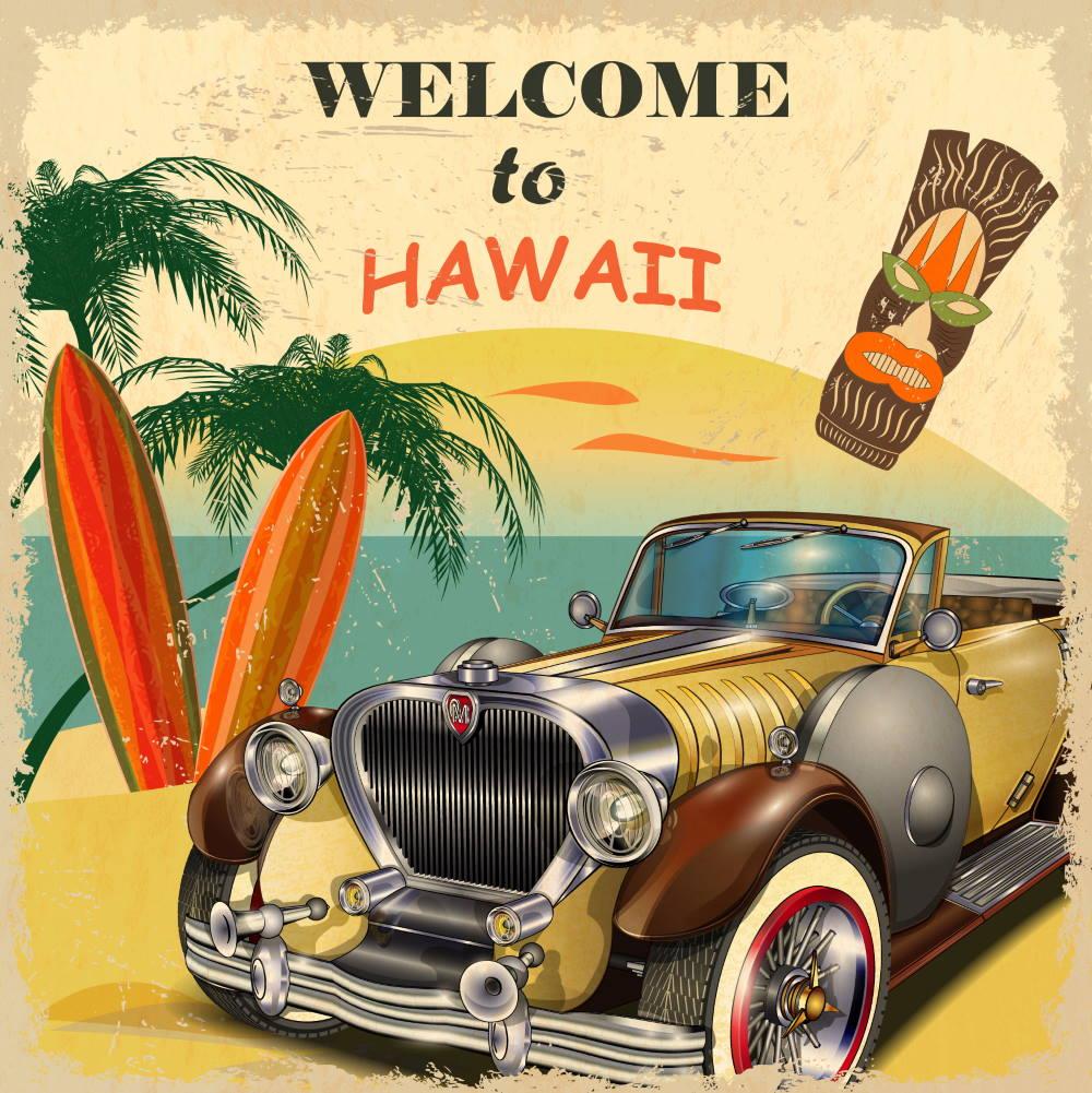 bienvenido a happy hawaii