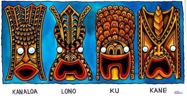 dioses hawaianos