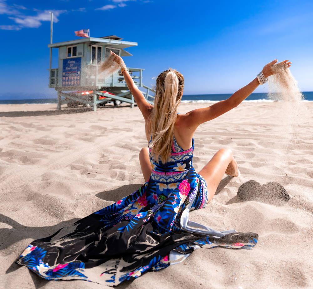 formas de ponerse un pareo de playa