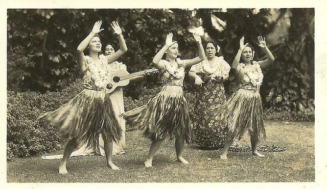origen danza hula