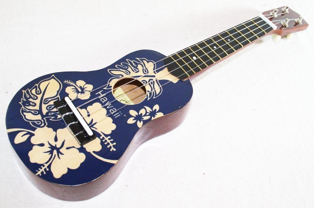 ukelele hawaiano soprano