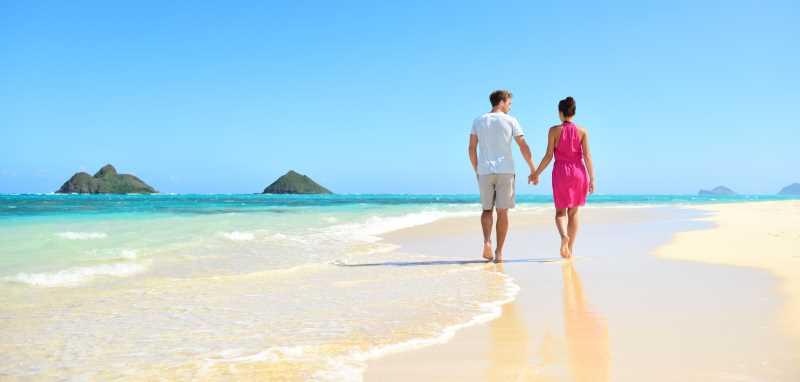 playa lanikai beach oahu paseo